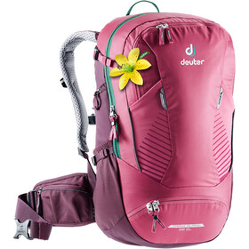 Deuter Trans Alpine 28 SL Zaino Donna, ruby-blackberry